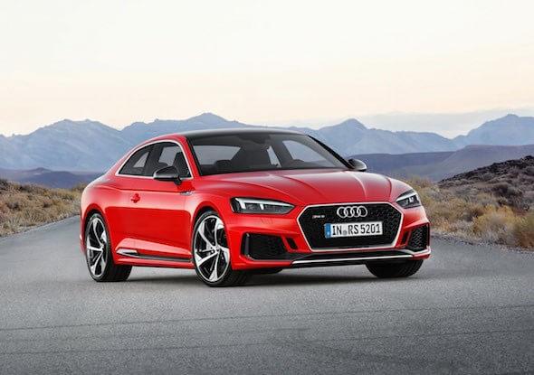 Audi RS5 2018'in Performansı Dikkat Çekecek!