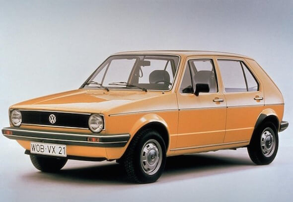 1974'ten 2018'e Volkswagen Golf!