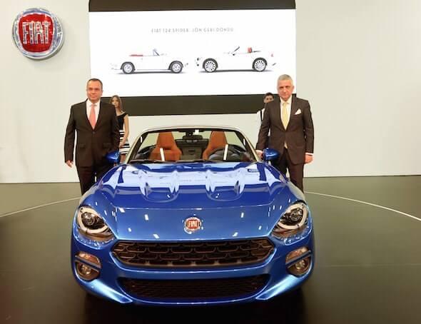 2017 İstanbul Autoshow'un Fiat Standı