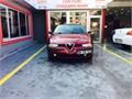Özel GS plakalı kırmızı Alfa Romeo