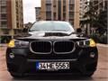 SONGURLAR-2016 BMW X3 EXCLUSİVE 15.000KM SİYAH BOYASIZ TAKAS