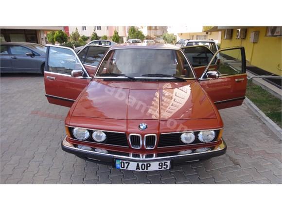 İLK SAHİBİNDEN - KLASİK BELGELİ 1981 MODEL BMW 745i