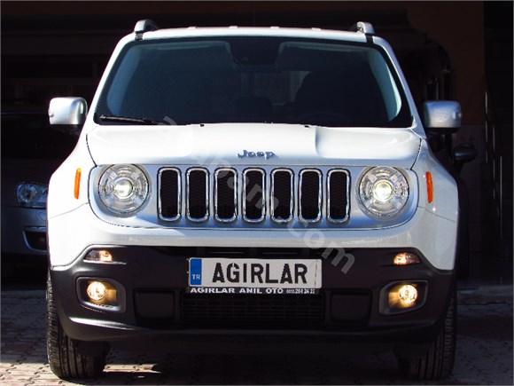 ağirlar anil otomotiv den 2015 model sifir jeep renegade limited