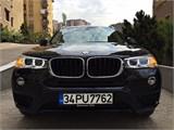 SONGURLAR-2016 BMW X3EXCLUSİVE 18.000 KM BOYASIZ TAKASLIDIR