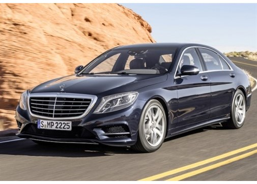Mercedes S 500 Long 4Matic Vizyon Otomatik